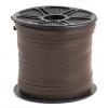 Leather Lacing Dark Brown 3.5x2mm